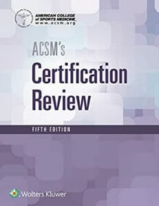 ACSM's Certification Review (American College of Sports Medicine)